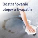 Odstraňovanie olejov a kvapalín